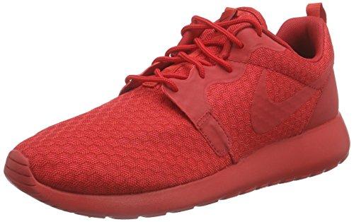 Nike Roshe One Hyperfuse Herren Sneakers, rot (university red/unvrsty red-blk), 45.5 EU