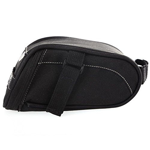 SHIZIZUO Bike Frame Bags, Cycling Saddle Bag Bicycle Seat Pouch Storage Bike Rear Tail Bag