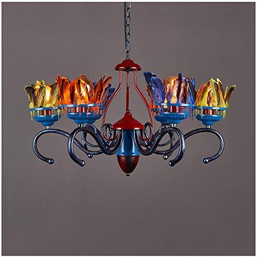 Industrielüster Deckenleuchte Kronleuchter, Loft Bar Gotik Lampe Vintage Leuchte Kreative Licht...