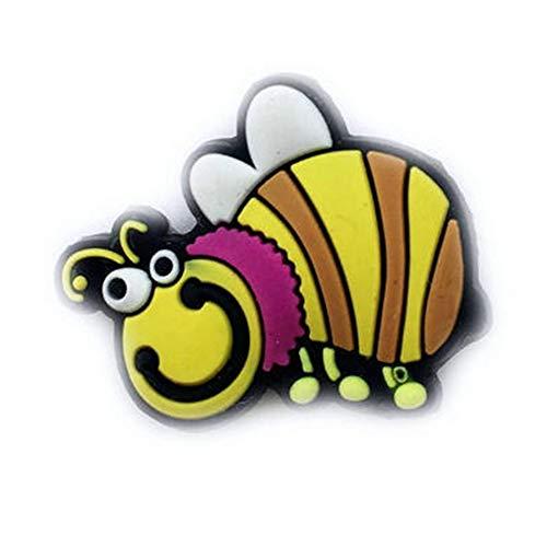 MTON Raqueta de Tenis de Silicona de Dibujos Animados Amortiguador de Vibraciones Raqueta de Tenis Amortiguador antichoque(Bee)