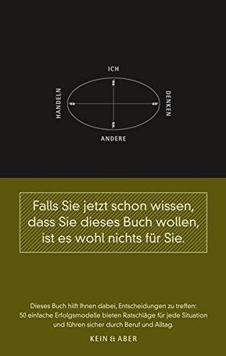 Krogerus Mikael,Tschäppler Roman, 50 Erfolgsmodelle. Kleines Handbuch für strategische Entscheidungen.