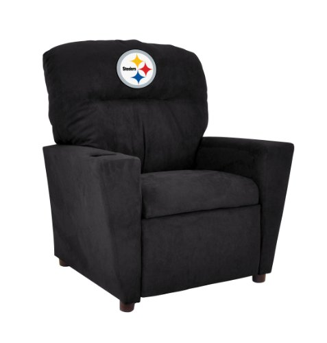 Imperial Officially Licensed NFL Furniture: Youth Microfiber Recliner, Pittsburgh Steelers