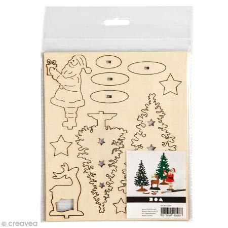 bouwpakketten-van-hout - Maak en Versier je Houten Kerst Figuren (1 TOYS)
