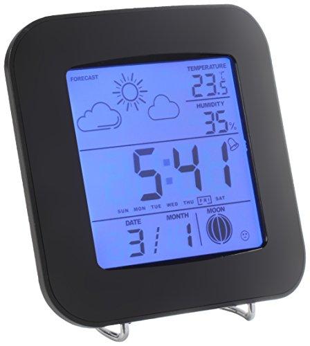 Clip Sonic Technology SL249 Station météo Noir