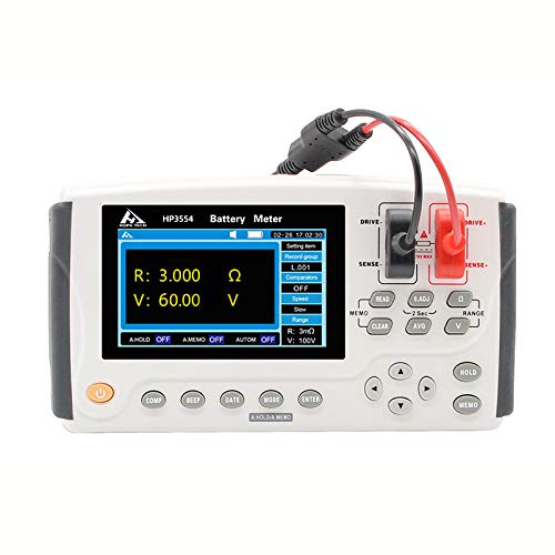 New Version 3554 Battery Tester Dedicated for UPS Online Testing Measure Internal Resistance and Voltage