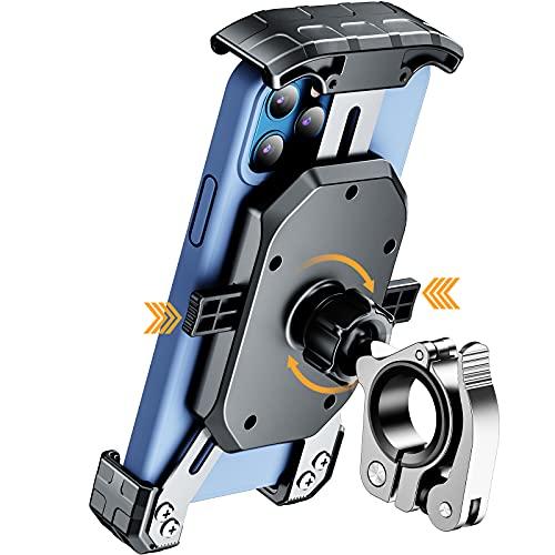 KEWIG Bike Phone Mount for Motorcycle - Bike Handlebar, One Touch Lock Motorcycle Phone Mount with...