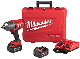 Milwaukee Fuel High Torque 1/2 Impact Wrench w/ Friction Ring Kit