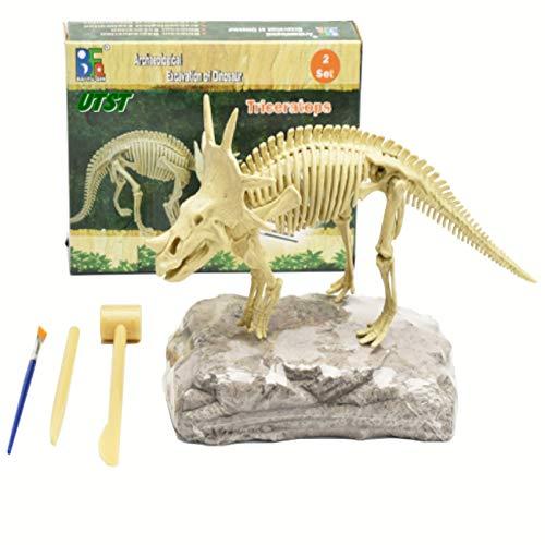 UTST 恐竜スティラコサウルス 角龍 草食恐竜 化石発掘セット (スティラコサウルス)