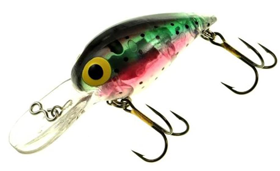 Brad's Killer Fishing Gear Wiggler (Laser Rainbow, 3 3/4-Inch, Lighted)
