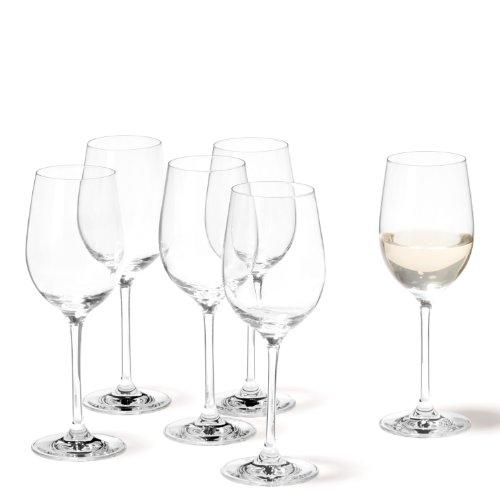 Leonardo 019845 Set de 6 Vin Blanc Ciao+