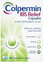 COLPERMIN IBS RELIEF CAPSULES - PEPPERMINT CAPSULES - 100