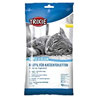 Bag for cat litter tray Clean and hygienic Contains 10 bags Measures 46 cm length by 59 cm width