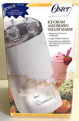 Review Oster Ice Cream/Frozen Yogurt Maker