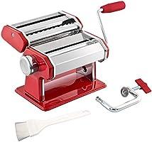 Bremermann® Pastamaskin rostfritt stål – för spaghetti, pasta och lasagne (7 steg), pastamaskin, pastamakare