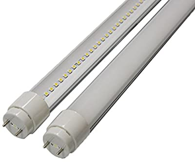 Goodlite G-20432 10-watt 2-Feet T8 T10 or T12 LED Tube 20W 17W Fluorescent Bulb Replacement