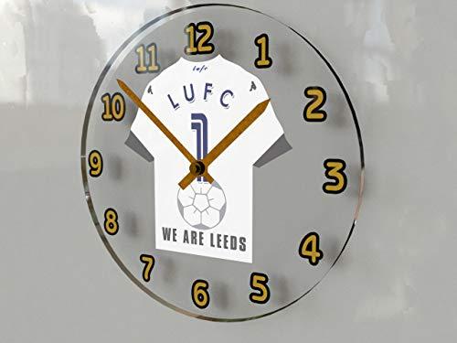 MyShirt123 The Championship Football League - Football Kit Wall Clocks - Any Name, Any Number, Any Team - Teams I TO W