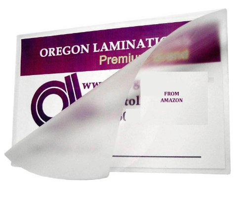 10 Mil Double Letter Laminating Pouches 11-1/2 x 17-1/2 Qty 50 Hot Laminator Sleeves