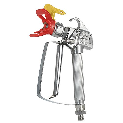 KKmoon 3600PSI High Pressure Airless Paint Sprayer Gun with 517 Spray Tip Nozzle Guard for Graco Wagner Titan Pump Sprayer and Airless Spraying Machine