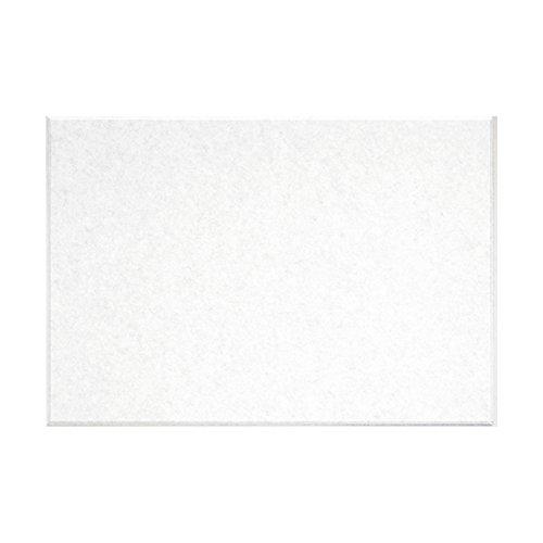 壁紙 失敗しない 貼るだけで省エネ 光熱費節約 後付けできる断熱材 フェルトパネル 45度カット 80×60cm - ホワイト - 1枚 フェルメノン FB-8060C-WH