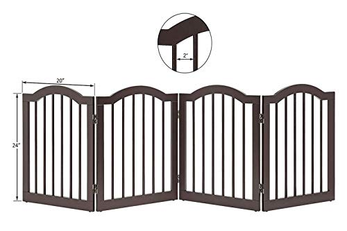 41ORLoyAEGL The TOP 7 Best Free Standing Baby Gates 2021 Review