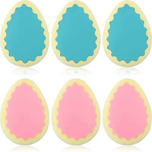 6 unidades de depilación con esponja Almohadillas de depilación Peladura sin dolor para la cara, pierna, brazo y cuerpo Herramienta de eliminación de vello físico