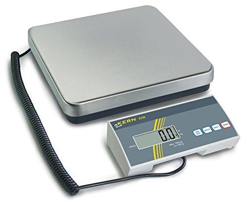 Pakket- en veterinaire weegschaal [Kern EOB 60K20] Precisie tot 20 g, Weegbereik max. 20 g.