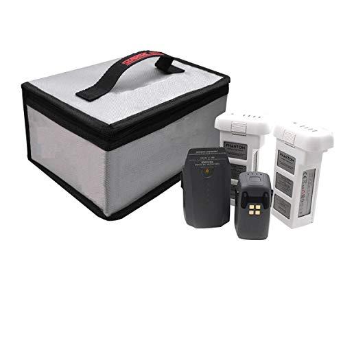 STARTRC Bolsa Segura lipo batería para dji Mavic Mini/Mavic 2 Pro Zoom/Mavic Pro Platinum/Mavic Air/Spark/Phantom 3/ Phantom 4 RC helicóptero de la batería 20x11x15cm
