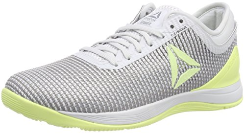 Reebok Damen R Crossfit Nano 8.0 Fitnessschuhe, Weiß (Spirit White/Cool Shadow/White/Lemon Zest Spirit White/Cool Shadow/White/Lemon Zest), 41 EU