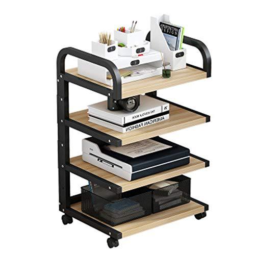 CuteLife Soporte de Impresora Pequeño Estante eléctrico Estudio Estudio Estudio Estante Piso...