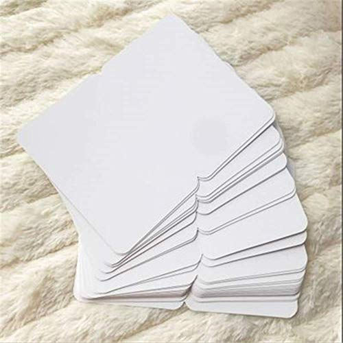 Wenskaarten BLTLYX 20 stks/set Vintage Kraftpapier Blanco Kaarten Gevouwen Wenskaart Schilderij Handgemaakte Diy Kaarten Blanco Kerstkaart 10.9 * 16cm Wit