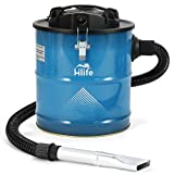 Ash Vacuum Cleaners 5 Gallon Tank Ash Vac-1200W 10 Amp Motor-2 Ash Filters -with Cleaning Kit for...