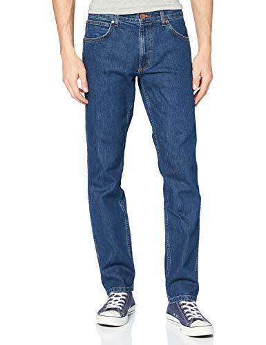 Wrangler Herren Greensboro Regular Jeans, Blau (Darkstone 090), 44W / 36L