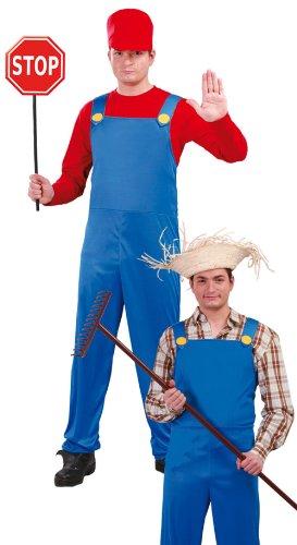 Guirca - Disfraz adulto de maquinista/granjero (80626)