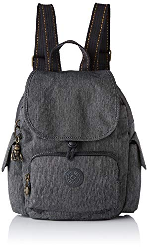 Kipling Damen City Pack Mini Rucksack, Schwarz (Black Indigo), 27x29x14 Centimeters