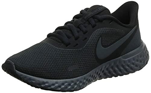 Nike Women's Revolution 5 Running Shoe, Black/Anthracite,...