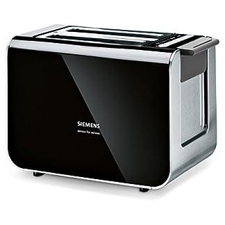 Siemens-TT86103-Toaster-860-Watt-fr-2-Scheiben-wrmeisoliertes-Gehuse-schwarz