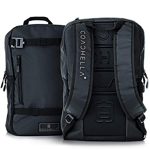 COACHELLA Commuter Backpack 15L | Black Backpack for Women | Spacious Gym...