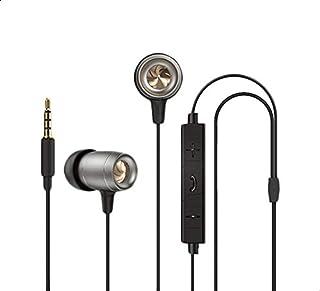 Infinix XE06 Wired Earphone - Black Silver