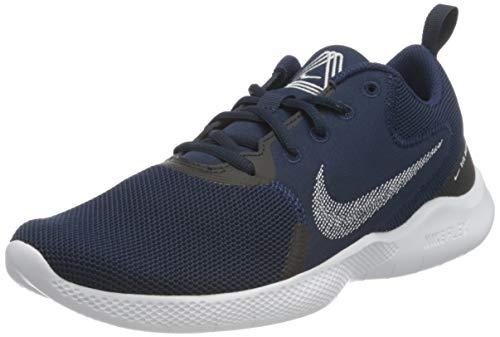 Nike Flex Experience RN 10, Running Shoe Hombre, Midnight Navy/White-Obsidian, 42 EU