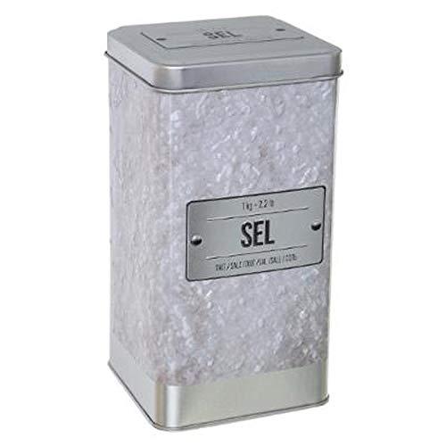 """FIVE Simply Smart - Boîte À Sel""""Relief IV"""" 17cm Blanc"""