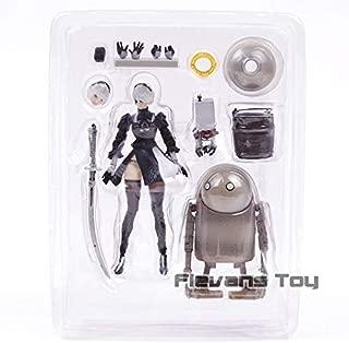 NieR Automata Yorha No.2 Type B 2B & Machine Lifeform PVC Action Figure Collectible Model Toy