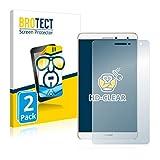 BROTECT Schutzfolie kompatibel mit Huawei MediaPad T2 7.0 Pro (2 Stück) klare Bildschirmschutz-Folie