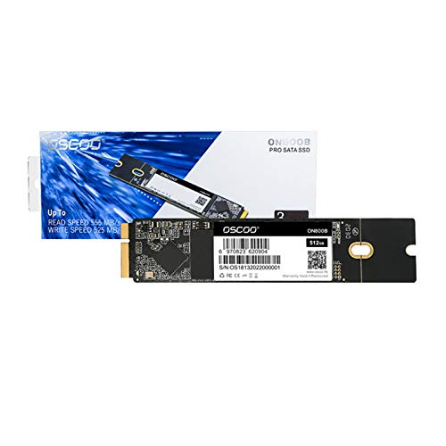 electronic product Apple SSD, 3D NAND SATA3 Protocol Interface Solid State Drive, Read/Write Speed Up To 555MB/s And 525MB/s For Apple MacBook Air/Pro(2012) SSD(128GB/256GB/512GB/1TB) RY