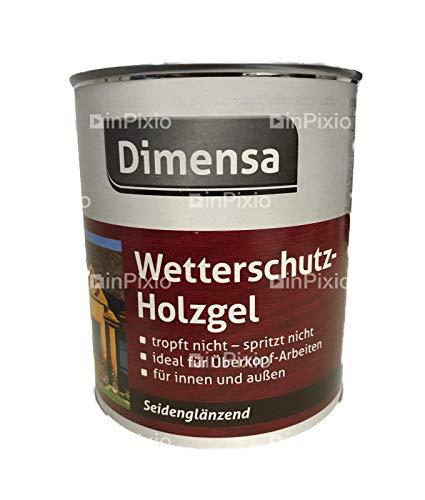 Dimensa Wetterschutz-Holzgel seidenglänzend palisander 5 Liter