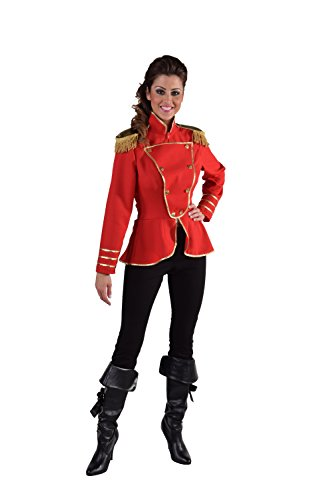 narrenkiste M216119-7-L rot Damen Uniform Jacke Harmonie Gr.L