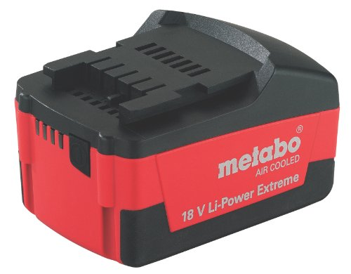 Metabo 625455000 Akkupack 18 V, 3.0 Ah, Li-Power Extreme - Air Cooled