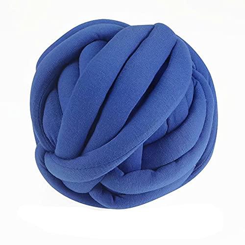 ZYUN Wool Yarn DIY Jumbo Yarn, Chunky Knit Cotton Tube Yarn Super Soft Washable Bulky Giant Yarn for...