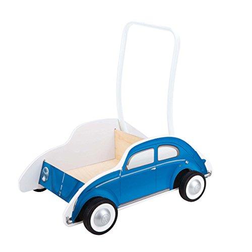 Hape E0382 Käfer Lauflernwagen, blau