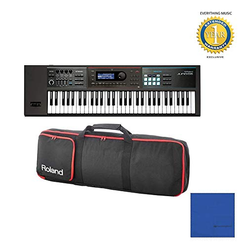 Read About Roland JUNO-DS61 61-key Synthesizer with Gigbag RAM-4879 Bundle with Microfiber and 1 Yea...