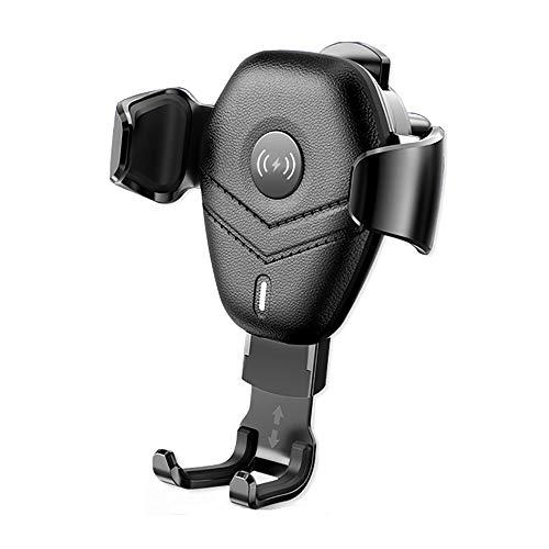 BAIYI Qi Car draadloze oplader, voor iPhone XS X 8 snel draadloos opladen voor Samsung Galaxy S9 S10 autohouder
